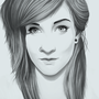 Katie Digital Realism Portrait by TheLoyalMeat