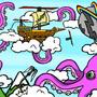 Sky pirates by gameObject
