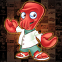 Zoidberg Mascot Design by lanotdesign