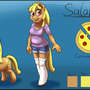 Salame reference sheet by draneas