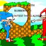 Poor Classic Sonic :( by Skruskie