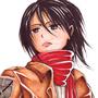 Mikasa Ackerman by oroy2041