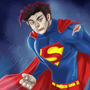 Anime Superman by kiareri