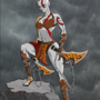Female Kratos (Jazza Contest) by laneyboy007
