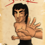 Bruce Lee by DeepFriedNeil