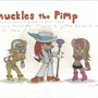 Knuckles the Pimp by mariofan46