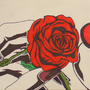 Sharpie rose on lips by Escapement