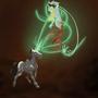 Glowing dance by Ettelea
