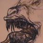 Demon dog sketch by BoxFullofZombies