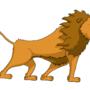 Lion - my first digital art. by DominikB