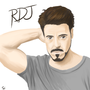 Robert Downey Jr by Safst3r