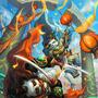 Pandaren Duel by Ishnuala