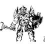 Bruenor Battlehammer by Rhyakk