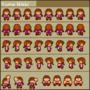 Madotsuki (Mario style) by HappyMaskSalesman123
