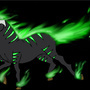 green fire horse by dragorazer