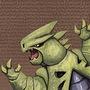 Tyranitarus Rex by TurkeyOnAStick