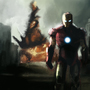 Iron Man speedpaint by TheFishyOne