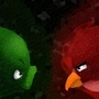 Angry Birds wallpaper - faces by 123shaneb