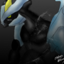 Black kyurem by Lizamas