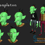 Templeton by animationsteve