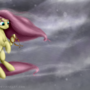 Hurricane Fluttershy by ABluSkittle