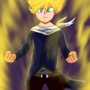 Super Sayan by Vis7a