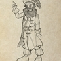 The pirate LeChuck by Sirrolandproduction