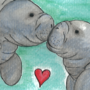 Manatees Love by bkesch