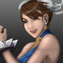 Speed paint - Chun Li by Webmegami