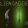 Alien Dagger by skullduggerystudios