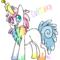 OC Pony : Cupcake