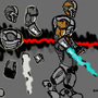 Cyborg Sprite Character concep by TrojanMan87