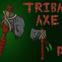 Tribal Axe by skullduggerystudios