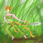 Grassdragon Hunter by RogueSoul