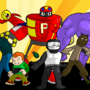 My little Newgrounds flash art by Emcik