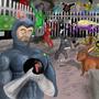Bomberman: Bad Fan art contest by rrool