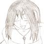 anime girl! =) by dragonrageX