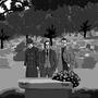 funeral by MAJINSTEVE