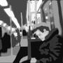 friday on train by MAJINSTEVE