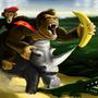 Donkey Kong by vylent