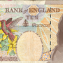 Ten pound note Mick Jagger by Mogly