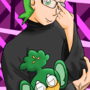 Cilan in glasses by charlot-sweetie