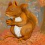 Squirrel 1 by Iokken