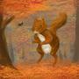 Squirrel 2 by Iokken