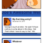 Blog Problems by WaldFlieger