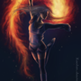 Fire Dance by xaolan