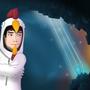 me in minecraft by SamDrawsGames