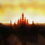 Anor Londo sunset by veselekov