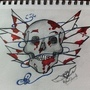 Deadly dead skull by archangelRAPHAEL
