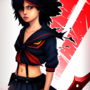 Kill La Kill by LlamaReaper
